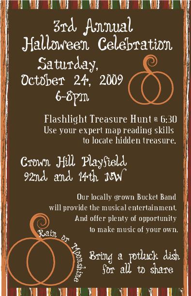 Halloween 2009 Flyer
